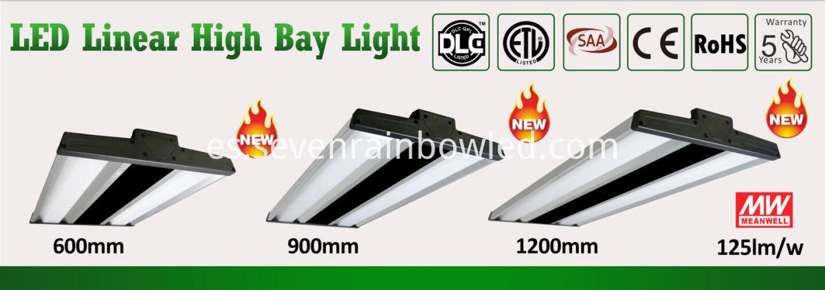 New led linear highbay